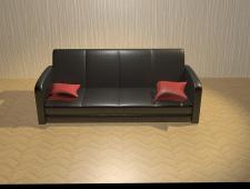 Моделирование и визуализация дивана в 3ds Max