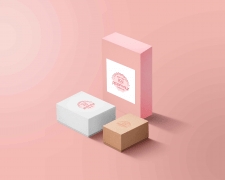 Boxes for sweet shop