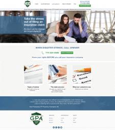 Дизайн сайта для страхового агентства