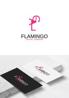 Concept Logo для туристической фирмы Flamigo