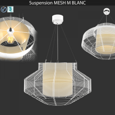 Suspension MESH L BLANC