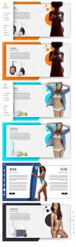 Сайт каталог косметики.