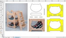 Разработка  деталей для вырезки на станке с ЧПУ