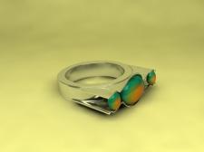 """Дизайн кольца """"Мушля1"""""""