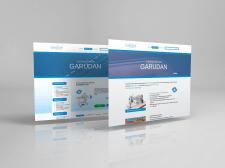 Дизайн сайта для компании Garudan