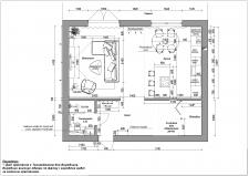 План розташування меблів 1 поверх