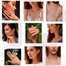 Оформление instagram магазина ювелирных украшений