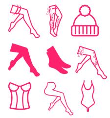 Иконки для сайта одежды