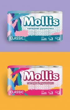 Дизайн упаковки для паперових виробів варіант 2