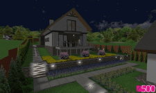 Премский район, с. Букор (озеленение, освещение)