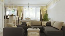 Квартира для семейной пары 59 м2 г. Херсон