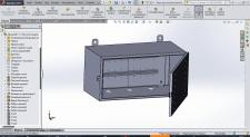 Distribution Box, Board (Sheet metal, Solidworks)