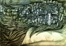 Сонный город