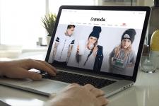 LaModa - концепт главной страницы