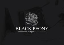 Разработка логотипа для Black Peony Lingery