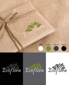 Ecoflora. Логотип