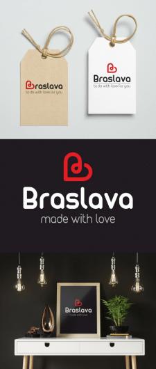"""Логотип для магазина женской одежды """"Braslava"""""""