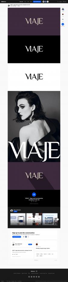 VIAJE — premium-бренд женской одежды