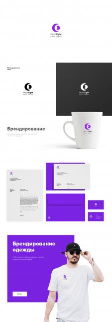 Разработка логотипа MoonLight