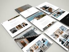 Создание сайта-портфолио под ключ для архитектора