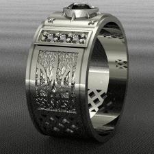 Кольцо в 3D