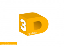 логотип 3D reality
