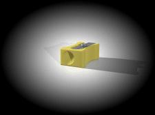 Стружилка для карандаша 3D
