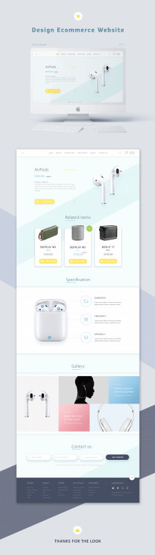 Web eCommerce Design