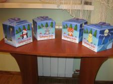 Упаковки для сладостей