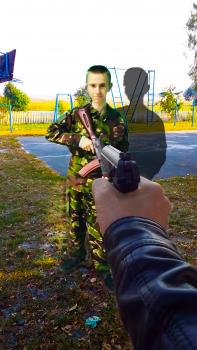 Під прицілом)