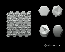 Hexagons medley