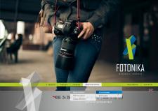 Сайт визитка Фотоника