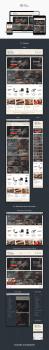 Дизайн магазин для Вин и Винных аксесуаров