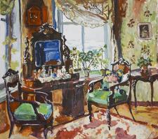 Копия интерьера 1920г .С.Жуковский
