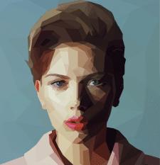 Полигональный портрет №1