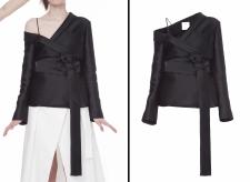 Обтравка одежды, замена фона