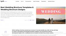 Wedding Brochure Templates & Wedding Brochure