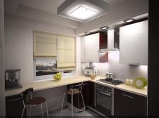 Квартира 40 м. Кухня