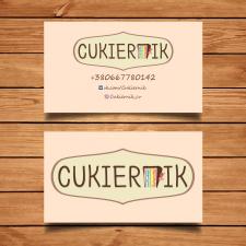 Логотип и визитка Cukiernik
