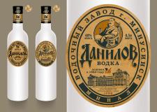 """Этикетка """"Данилов"""""""