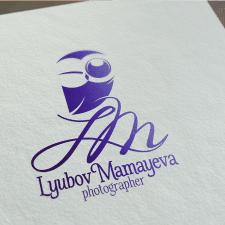 Лого фотографа Любовь Мамаевой (Астана).