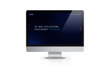 Верстка сайту з розробки мобільних додатків