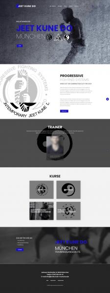 Сайт с Карате