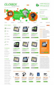 Дизайн интернет магазина навигаторов