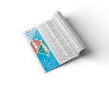Реклама препаратов в глянцевом журнале