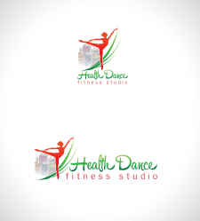 логотип для фитнесс центра Health Dance