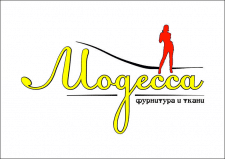 Логотип швейного магазина
