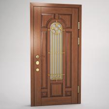 Предметная визуализация двери 3д