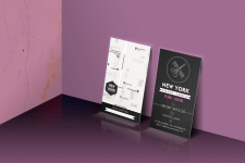визитки салона красоты