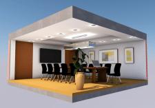 визуализация комнаты для переговоров
